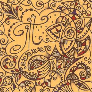 Рисунок шариковыми ручками Хуторной Елены Творчество