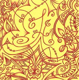 Рисунки шариковыми ручками Хуторной Елены Надежда