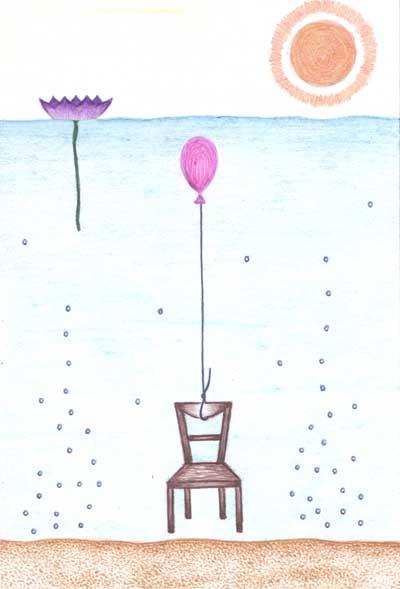 Метафорические карты Хуторной Елены Воздушный шар