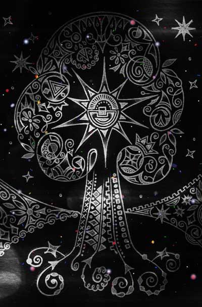 Метафорические карты, мистические рисунки Предвидение