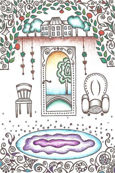 Метафорические карты, фантазийные рисунки, графика Насыщение