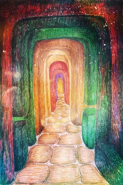 Метафорические карты, абстрактные рисунки, перещера