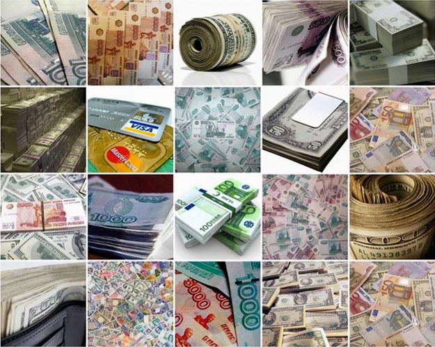 Красивые коллажи Деньги
