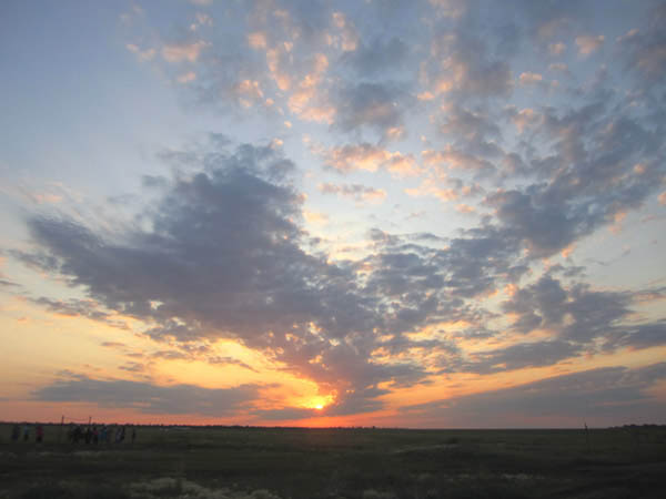 Фотографии лета Закат