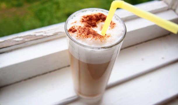 Летние фотографии Кофе с молоком