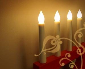 Пусть исполняются желания, новогодние свечи Миниатюра