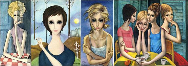 Маргарет Кин картины