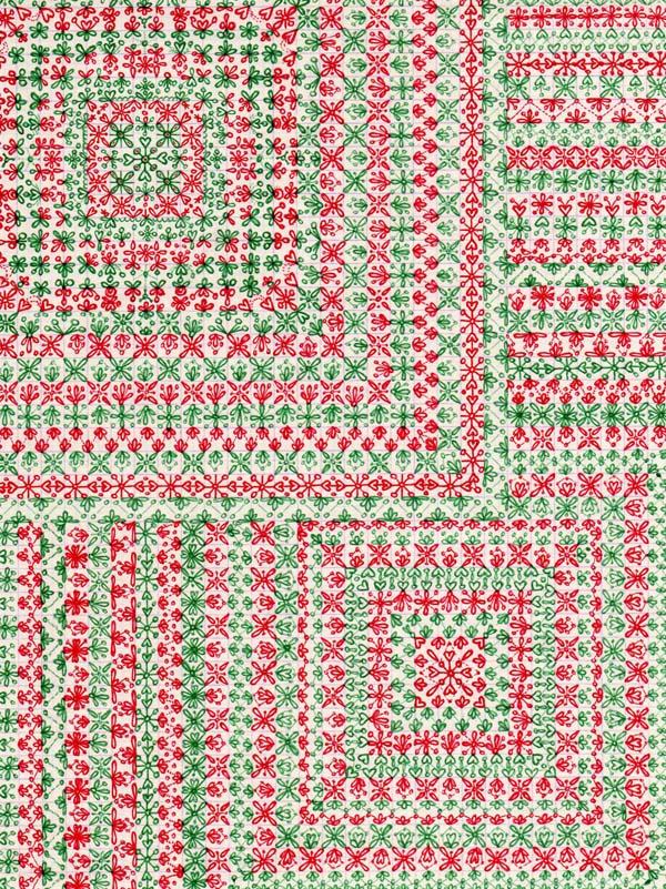 Рисунки шариковыми ручками на тетрадном листе Цветочная поляна