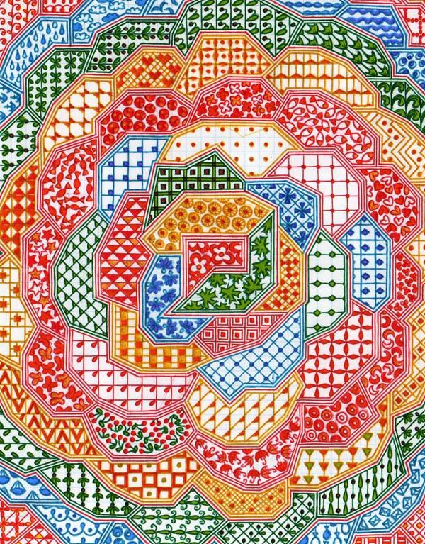 Рисунок шариковыми ручками на тетрадном листе Маленькое чудо
