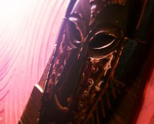 Ненормативная лексика, деревянная маска