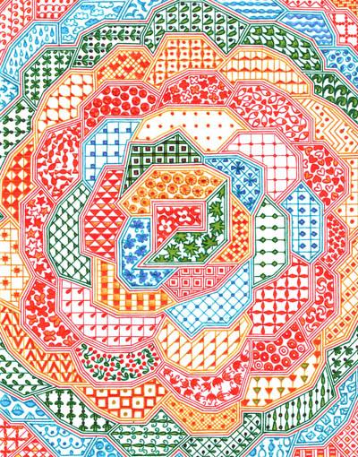 Рисунки цветными шариковыми ручками Маленькое чудо
