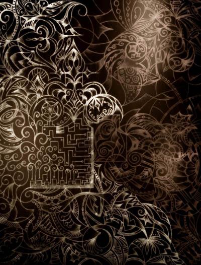Интуитивные карты, графические рисунки Сила тьмы