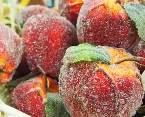 Чем себя порадовать Засахаренные яблоки