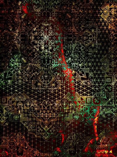 Интуитивные карты, таинственные рисунки Следы кошачьих лап