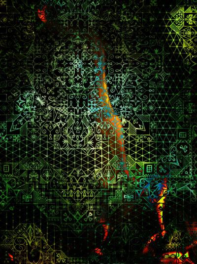Интуитивные карты, вдохновляющие рисунки Мое новое имя