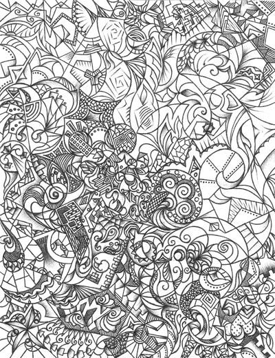Рисунок для обложки книги Отрицательная субстанция