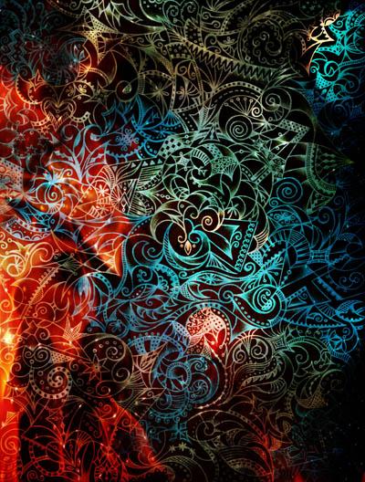 Метафорические карты, огненные рисунки Достаток