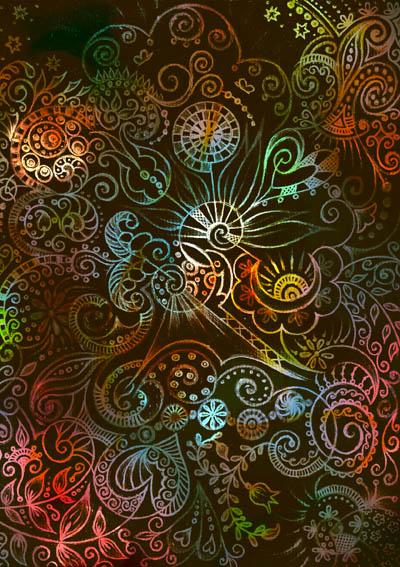 Душевные рисунки, интуитивные карты Смотрю на тебя, когда ты спишь
