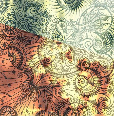 Метафорические карты, абстрактные рисунки Не конец