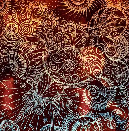 Метафорические карты, красивые необычные рисунки Затаилось