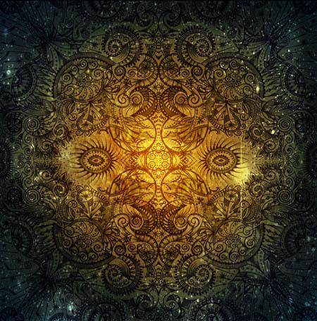 Метафорические карты, мистические рисунки Бездна