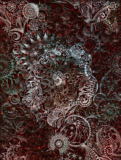 Метафорические карты, мистические рисунки Наедине с собой