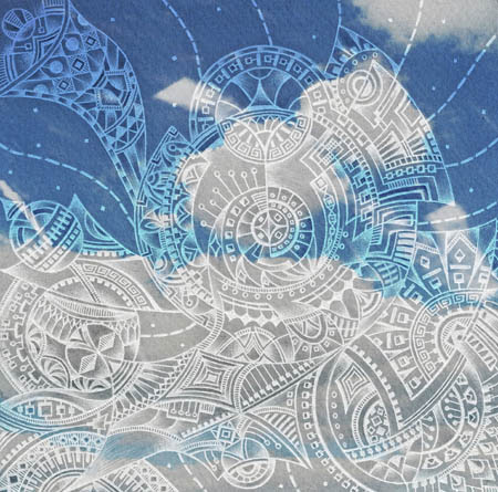 Метафорические карты, вдохновляющие рисунки Небо