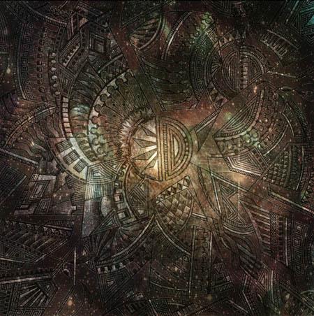 Метафорические карты, абстрактные рисунки Проникновение