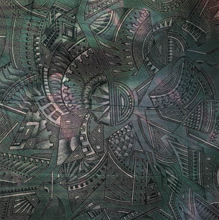Интуитивные карты, эзотерические рисунки Внутренний ветер