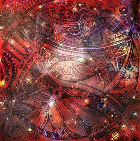 Интуитивные карты, таинственные рисунки Волшебство на кончиках пальцев