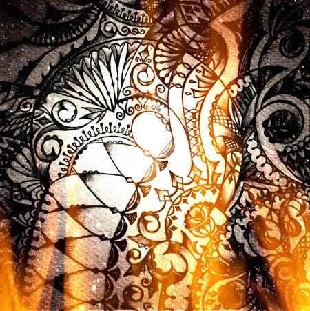Метафорические карты, огненные рисунки Выгорит