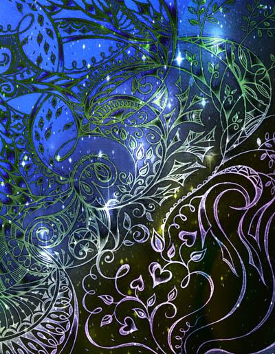 Интуитивные карты, мистические рисунки Вересковое поле