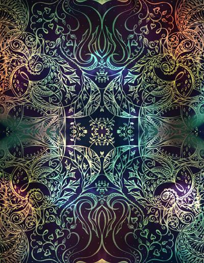 Вдохновляющие рисунки, метафорические карты Бирюзовый рассвет