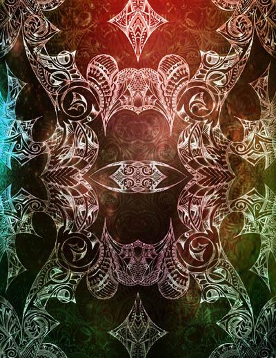Мистические рисунки, метафорические карты Ночь талантов