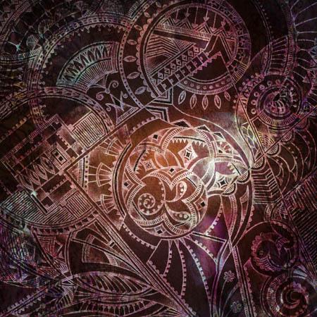 Абстрактные рисунки, метафорические карты Ненаписанная история