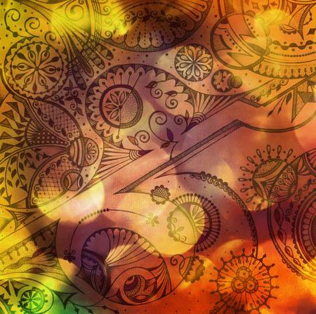 Душевные рисунки, метафорические карты Четыре часа пополудни