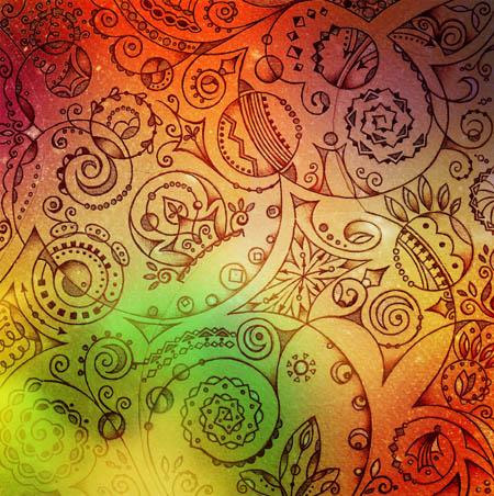Метафорические карты, вдохновляющие рисунки Зеленое солнце