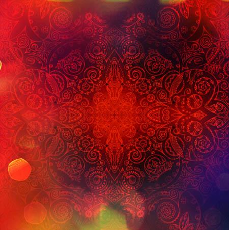 Рисунки для вдохновения, интуитивные карты Дыши красным