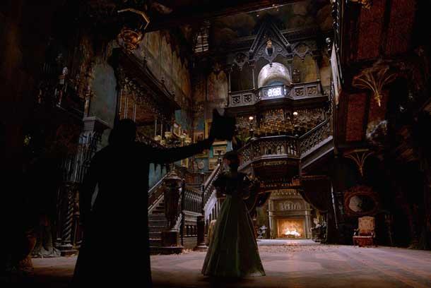 Красивые фильмы Багровый пик Замок