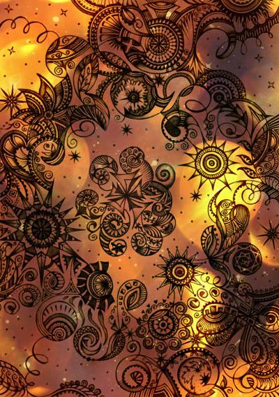 Интуитивные карты, звезда графика Живое золото