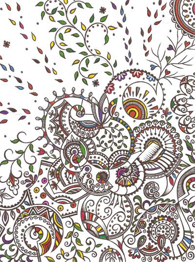 Метафорические карты, рисунки шариковыми ручками Солнышко