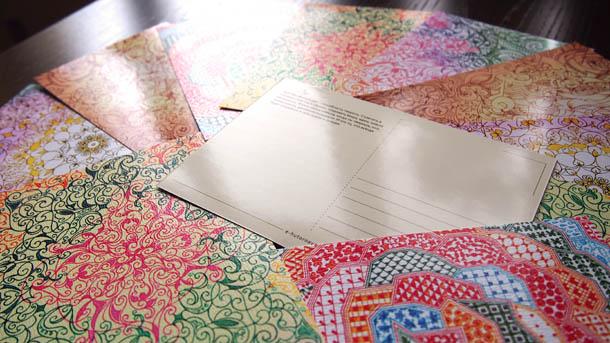 Почтовые открытки разные