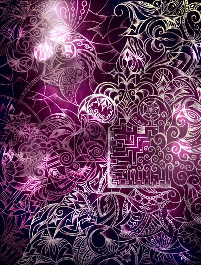 Метафорические карты, мистические рисунки Присутствие