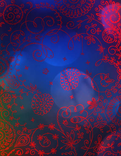 Графические рисунки цветов, интуитивные карты Разгадка