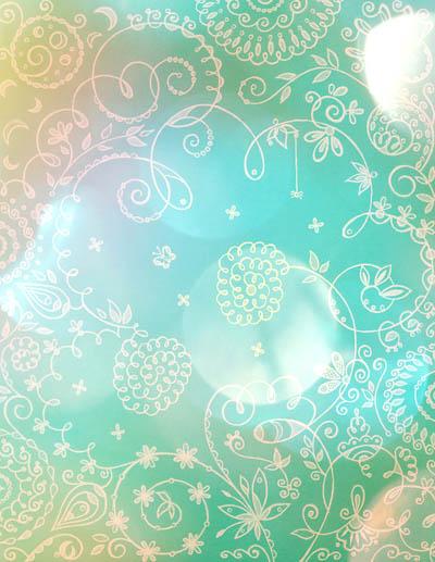Графические рисунки цветов, метафорические карты Травинка