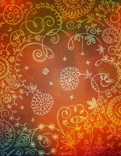 Графические рисунки цветов, интуитивные карты Верный расчет