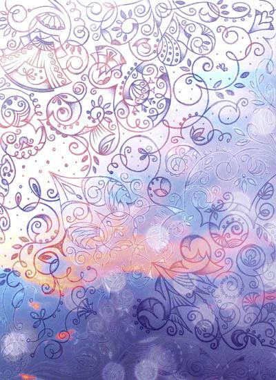 Мистические рисунки, интуитивные карты Восполнение
