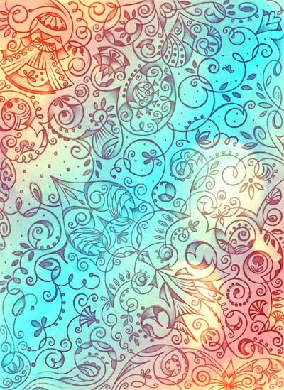 Душевные рисунки, интуитивные карты Новый день