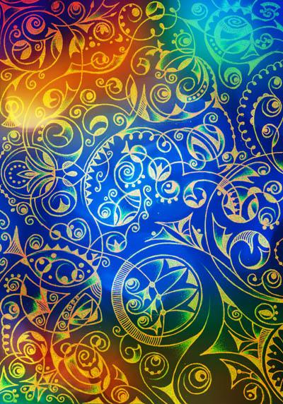 Вдохновляющие рисунки, интуитивные карты Озарение