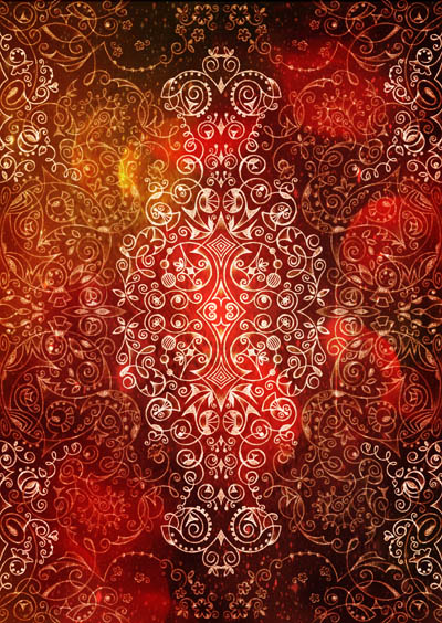 Метафорические карты, мистические рисунки Найди в себе красное